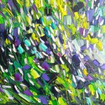 Green light: 60x60 cm, oil on canvas, price upon request