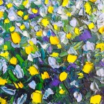 Little yellows: 30x30 cm, oil on canvas, price upon request