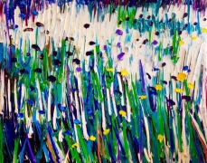 Grass: 80x100, oil on canvas - Price upon request