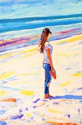 Summerburst: 80x120 cm, oil on canvas - Price upon request