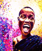Joyfull: 100x120cm, oil on canvas - price upon request