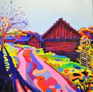 Glorious morning - Viby: 100x120cm, oil on canvas - Price upon request