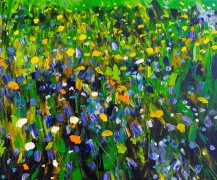 Eternal Green: 100x150 cm, oil on canvas - price upon request