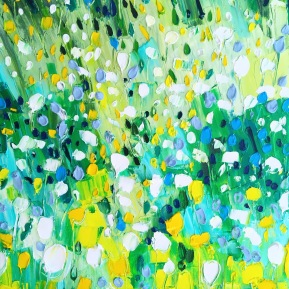 Spring feelings: 50x60 cm, oil on canvas, 2019 - price upon request
