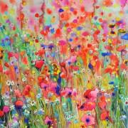 Original watercolor - Pink Passion