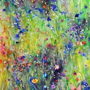 Original watercolor - Meadow Sparcle #1