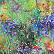 Original watercolor - Meadow Sparcle #2
