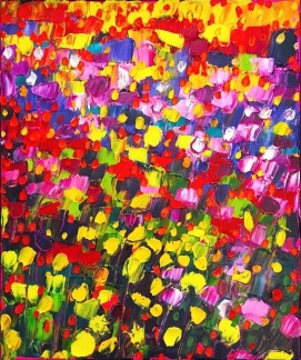 Original oil painting - Bright - Bright