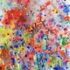 Original watercolor - Explosion