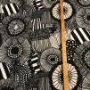Pieni Siirtolapuutarha (pris per decimeter) - Vit, svart, grå-beige