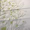Lumimarja Satin vit grå grön (pris per decimeter)