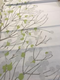Lumimarja Satin vit grå grön (pris per decimeter) -