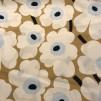 Pieni Unikko Vit blå beige (pris per decimeter) - Pieni-Unikko Vit, blå beige