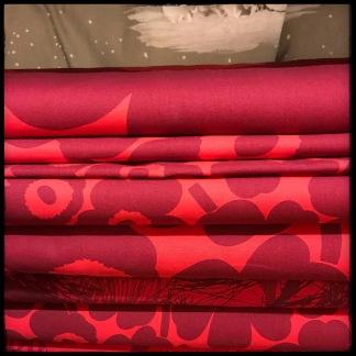 Unikko Röd på röd - Unikko Stora röd på röd