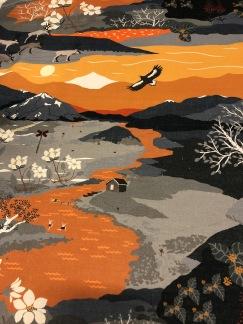 Fjällvandring orange (pris per decimeter) - Fjällvandring orange