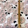 Peekaboo Panda Pink (pris per decimeter)