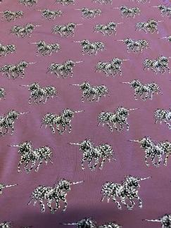 Unicorn Dusty Purple (pris per decimeter) - Unicorn Dusty Purple