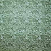 Mairo Blomma grönt på grönt Linne (pris/dm)