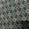 Trikå grön med mönster (pris per decimeter)