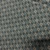 Trikå grön med mönster (pris per decimeter) - Trikå grön med mönster