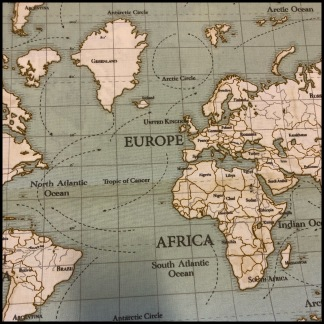Karttyget Maps (pris per decimeter) - Maps blå