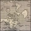 Karttyget Maps (pris per decimeter) - Maps svartvit