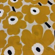Pieni Unikko 2 gul svart beige(Pris per decimeter)