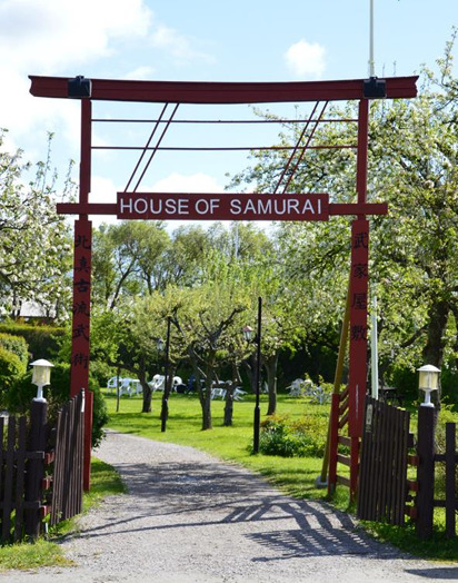 The welcoming Tori at the gates of House of Samurai