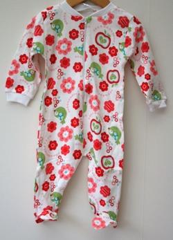 Pyjamas Fixoni strl. 74 - Vit strl. 74