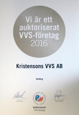 Auktoriserat VVS-företag Varberg - Säker Vatteninstallation Kristensons VVS