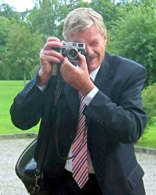 Fotografen Claes Funck 2006. Foto Sven-Olof Larsson.