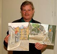 Fotografen & akvarellisten Claes Funck