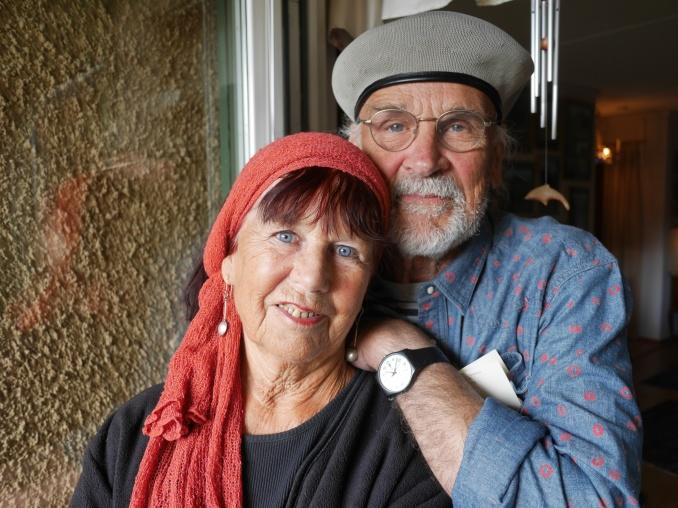 Ulrica och Bertil i augusti 2015. Foto Claes Funck
