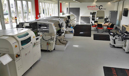 Inside smartTec technology centre