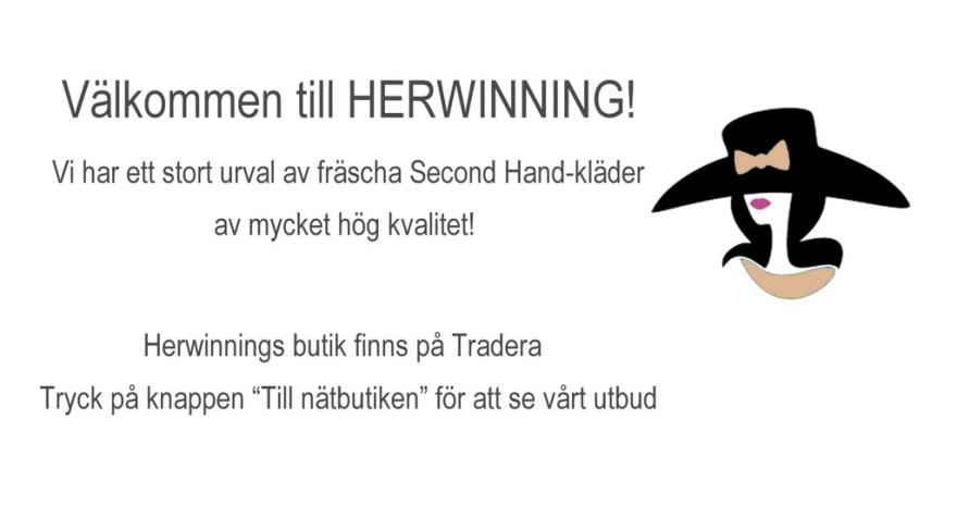 Herwinning Second Hand märkeskläder online köp second hand på nätet hög kvalitet