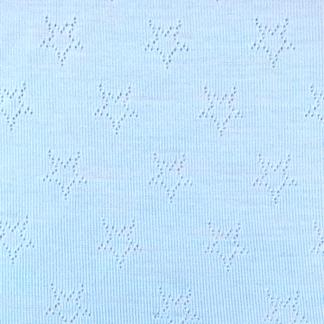 Merinoull, ljusblå - merinoull, blå stjärnor