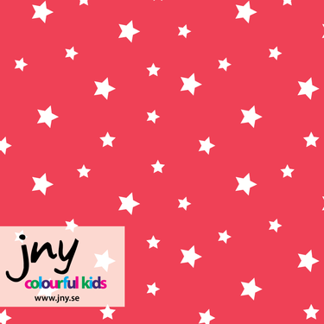 Jersey, JNY, Little star, coral - Jersey, littele star coral