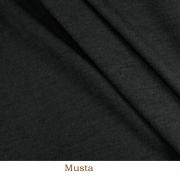 Merinoull svart
