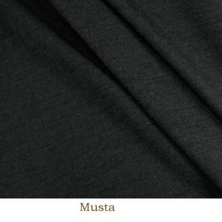 Merinoull svart muelisingfri - Merinoull, svart muelisingfri