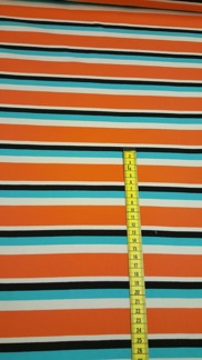 Marimekko interlock orange -