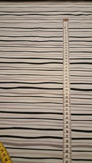 Strömming design Stripes grå - Jersey svart och grå ränder