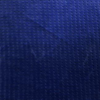 Våffelvelour - Våffelvelour blå