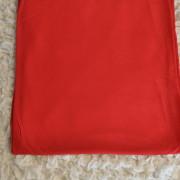 Bambutrikå röd utan elastan