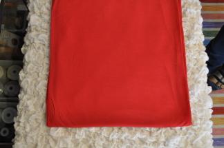 Bambutrikå röd utan elastan -