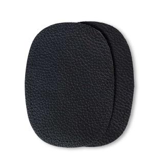 Lagningslappar skinn - Lagningslappar nappaskinn svart
