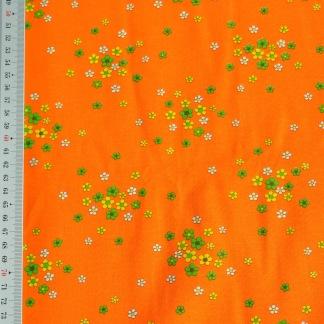 Stuv retro orange med små bommor -