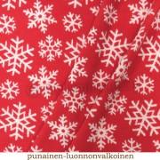 Merinoull Snöflinga röd