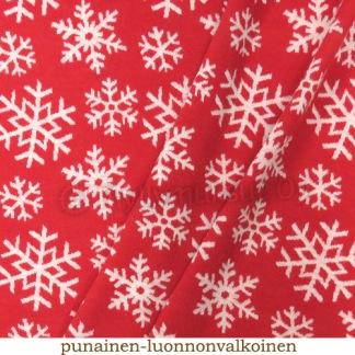 Merinoull Snöflinga röd - Merinoull snöflinga röd