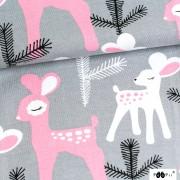 Paapii Bambi ljusgrå rosa