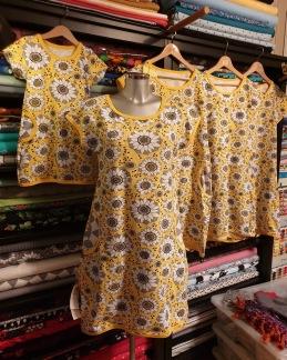 Sommarklänning Lumme gul - Klänning lumme gul  stlk 36